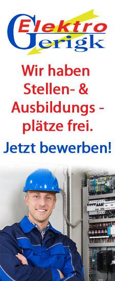 Stellenangebote der Firma Elektro Gerigk